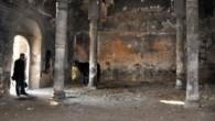 İzmir Menemen'deki tarihi kilise ahır olarak kullanılıyor