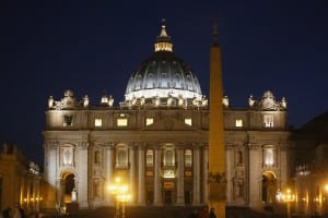 Earth Hour In St. Peter's Square