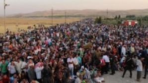 Bağdat'ta Hristiyan mülteciler için 'konteyner kent' kuruldu