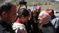 Papa'nın temsilcisi Kardinal Filoni, Erbil'de Hristiyan mültecilerle görüştü