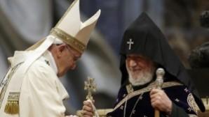 Papa'ya Ankara'dan tepki