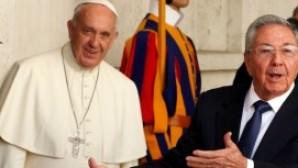 """Küba Devlet Başkanı Castro: """"Böyle giderse dua etmeye başlayıp Katolik Kilisesi'ne yöneleceğim, şaka yapmıyorum"""""""