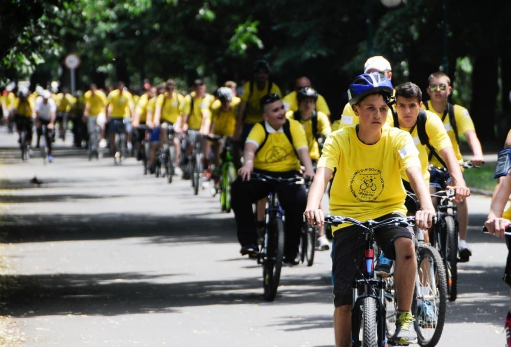 bisikletli rekor