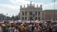 İtalya'da Aile Günü için miting
