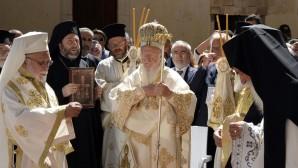Patrik Bartholomeos Sümela'da Meryem ana Ayini'ni yönetti