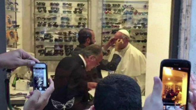 papa gözlük