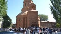 89 Yıl Sonra Gümrü'de İlk Katolik Kilisesi Açıldı