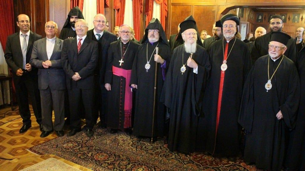kiliseler arası ortak komisyon üyeleri