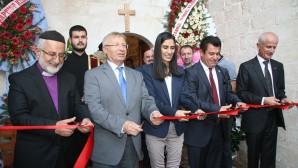 Mardin Protestan Kilisesi'nde yeniden Tanrı'ya övgüler yükseliyor