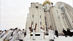 Orta Asya'nın En Büyük Ortodoks Kilisesi Açıldı