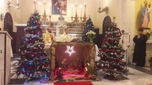 İskenderun Katolik Kilisesinde Coşkulu Noel Kutlaması