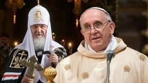 Papa Françesko ve Patrik Kirill Küba'da