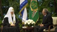 Patrik Kirill Küba Lideri Raul Castro İle Bir Araya Geldi