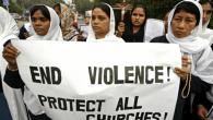 Pakistanlı Hristiyanlar Kilise Yıkımlarını Protesto Etti
