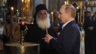 Rusya Devlet Başkanı Putin Aynoroz Adası'nı Ziyaret Etti