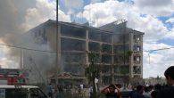 Mardin Midyat İlçe Emniyet'e Bombalı Saldırı !