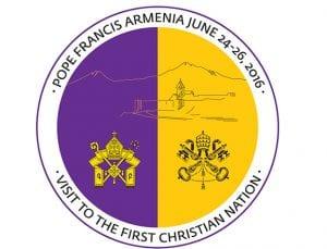 Papa Ermenistan Ziyareti Logosu
