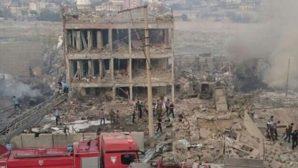 Cizre Emniyet Müdürlüğü'ne bombalı saldırı