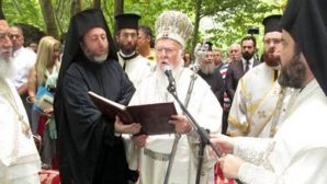 Ekümenik Patrik I. Bartholomeos Kirazlı Manastırı'nda ayin yönetti