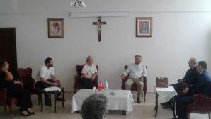 Mersin Ortodoks Kilisesi CHP Milletvekilini Ağırladı