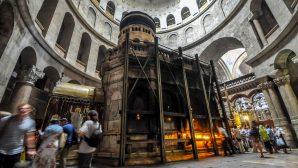 Kutsal Kabir Kilisesi'nin Restorasyon Çalışmaları Başladı