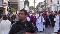 Saldırıya uğrayan kilise yeniden açıldı