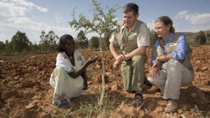 Avustralyalı Afrika'yı Ormanla Kaplıyor