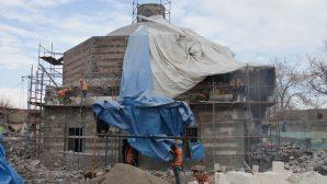 Sur'da Ermeni Katolik ve Protestan Kilisesi Restore Ediliyor