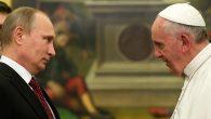 Papa Françesko, Hristiyanların Güvenliği İçin Putin'le Görüştü