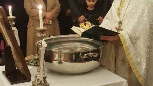 Mersin'de Vaftiz Bayramı Kutlandı