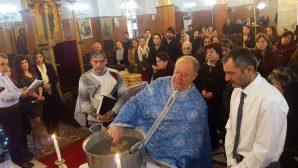 İskenderunlu Ortodokslar Vaftiz Bayramını Kutladı