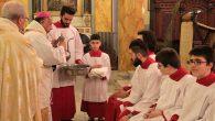 Kutsal Perşembe İstanbul Saint Esprit Katedrali'nde