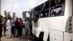 Mısır'da Kiliseye Giden Otobüse Saldırı