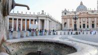 Vatikan Kuraklıkla Mücadele Eden Roma İçin Çeşmelerini Kapatıyor
