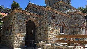 Aziz Paisiosa İthafen Yapılan Kilise Tamamlanmak Üzere