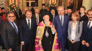 Aya Yorgi Rum Ortodoks Kilisesi Gerçekleştirilen Tören ile İbadete Açıldı