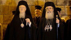 Ekümenik Patrik I. Bartholomeos Yeruşalim'de
