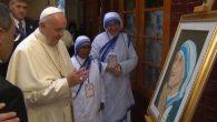 Papa Françesko Azize Teresa Yetimhanesini Ziyaret Etti