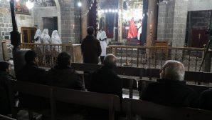 Diyarbakır Meryem Ana Süryani Kilisesi'nde Noel Bayramı