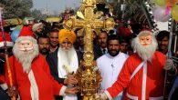 Hindistanlı Hristiyanlar Hindulara Rağmen Noel'i Kutladı
