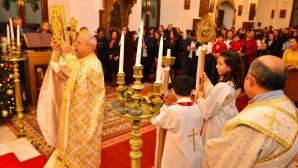 Mersin'deki Ortodoks Kilisesi'nde Noel Ayini