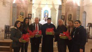 Hatay Büyükşehir Belediyesi'nden Noel Bayramı İçin Hediye Sepeti