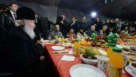 Tüm Rusya Patriği Kirill Evsizlerle Öğlen Yemeği Yedi
