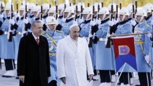 President Erdogan visits the Vatican