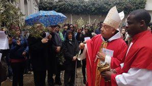 Palm Sunday Celebration in Istanbul Holy Spirit Cathedral