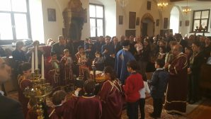 The Mass of Respect to the Icons has been celebrated at the Mersin Greek Orthodox Church