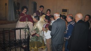 Karasun Manuk Armenian Church Celebrates the Palm Sunday