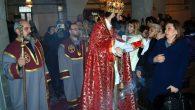 Kayseri'deki Surp Krikov Lusaroviç Kilisesi'nde 'Miçing Ayini' Yapıldı