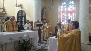 İskenderun Katedrali'nde Krizma Kutsaması Gerçekleştirildi