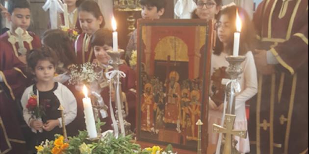 Haç'a Saygı Pazarı Mersin'de Ayinle Kutlandı